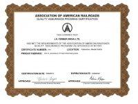 AAR FPI_2019 Certificate